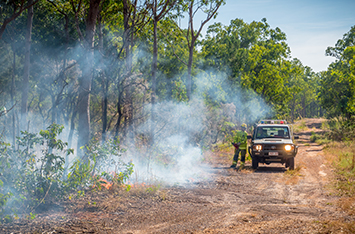 Top End Bushfire Season Launched