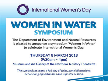 Inaugural Women in Water Symposium
