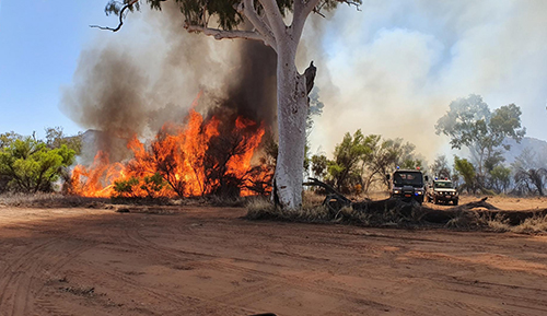 Central Australian fire season commencement