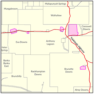Barkly North locality map
